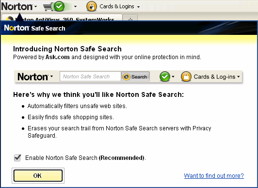 2 Removing Partner Branding On The Norton Toolbar To Minimize Confusion That We Are Installing A Third Party Search All Box Code