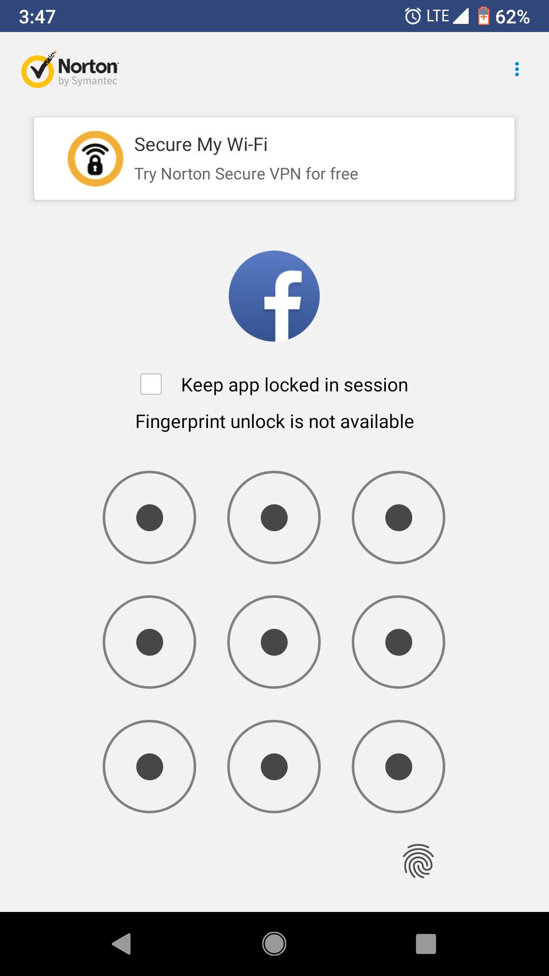 applock://open