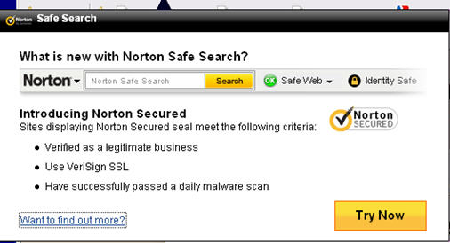 Safe Search Is Installed And Working Fine I Use It This Pop Up Annoying As How Can Get Rid Of Aside From Disabling Ups