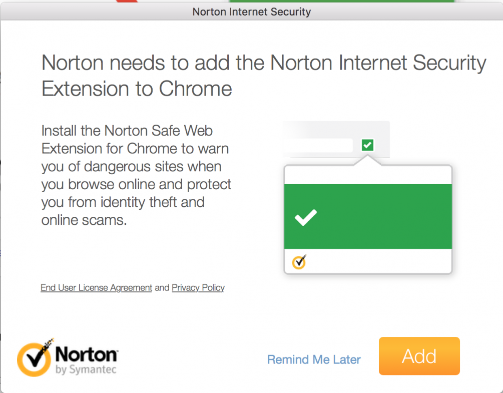 Stop Norton from installing Safari Extension | Norton Community