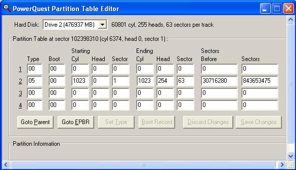 Partition Magic pqrp partition | Norton Community