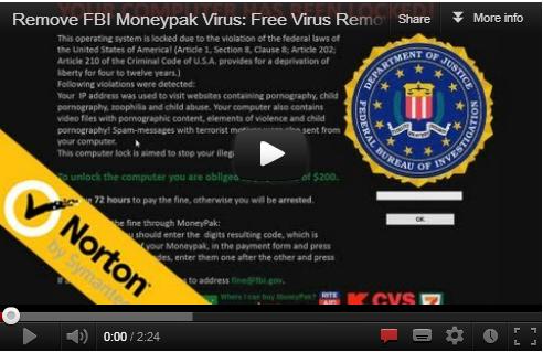 how to get fbi virus off computer