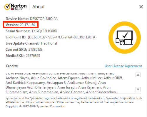 Norton 22 17 1 50 for Windows is now available! | Norton