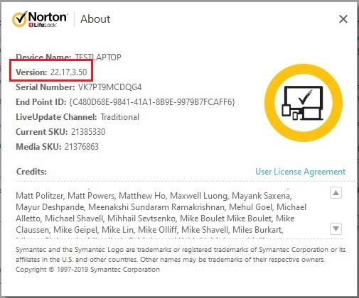 Norton 22 17 3 50 for Windows is now available! | Norton