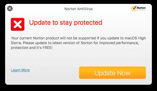 free antivirus for mac os high sierra