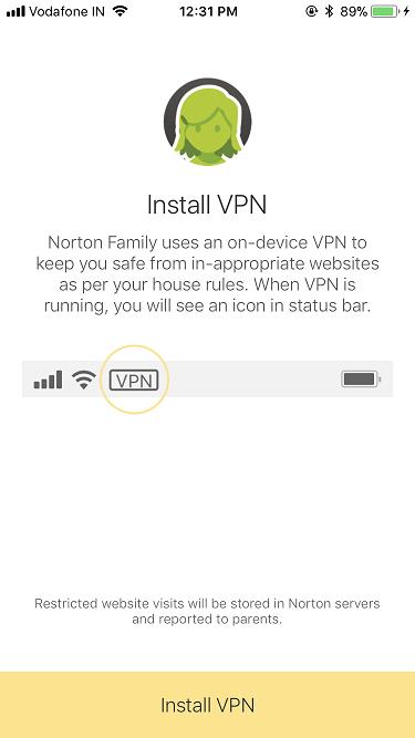 Norton Family Parental Control is now Norton Family   Norton