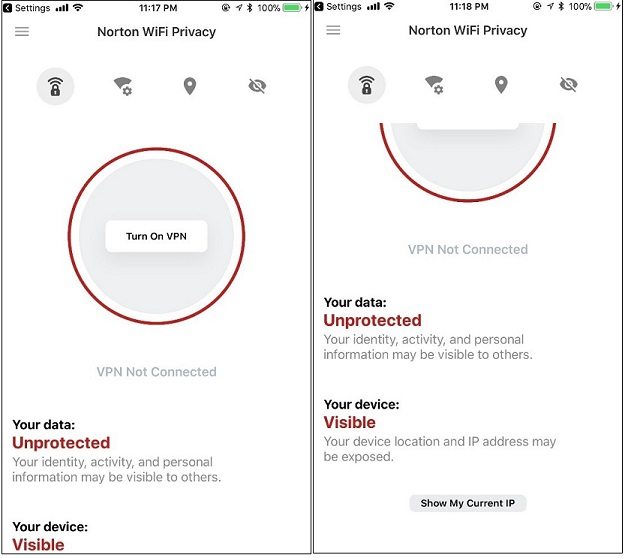 Norton WiFi Privacy 2 5 update for iOS and Android | Norton