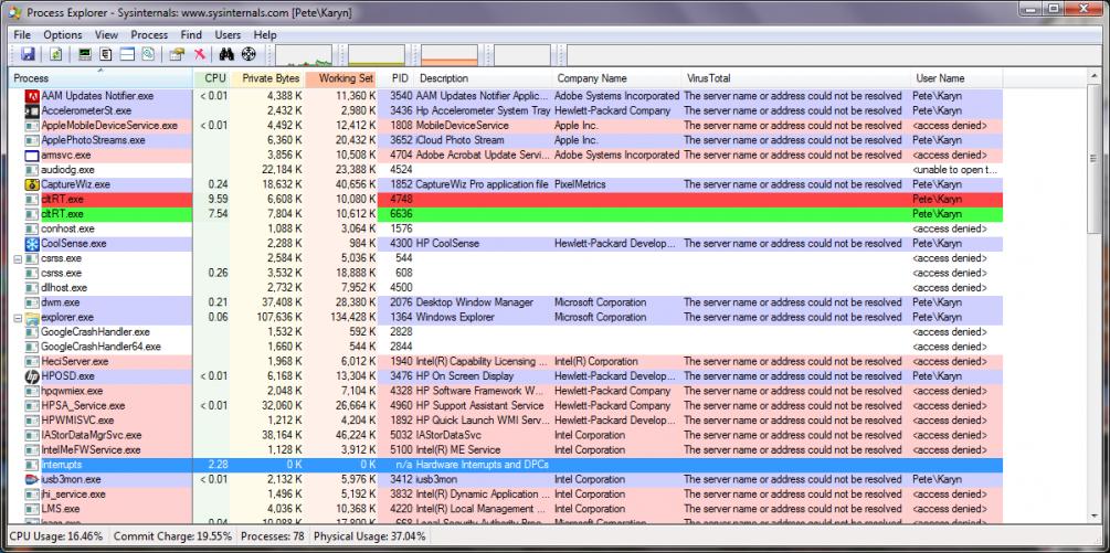 dtRT exe Runs High CPU on Startup | Norton Community