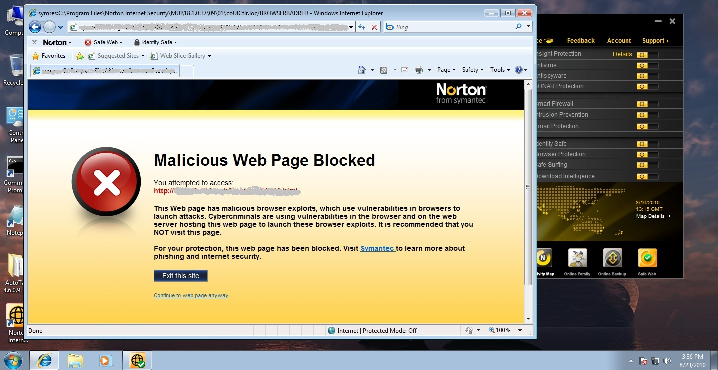 Norton Browser Protection: Protecting you from web attacks