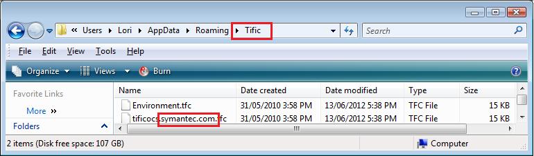 Tific Folder \u0026 .tfc | Norton Community