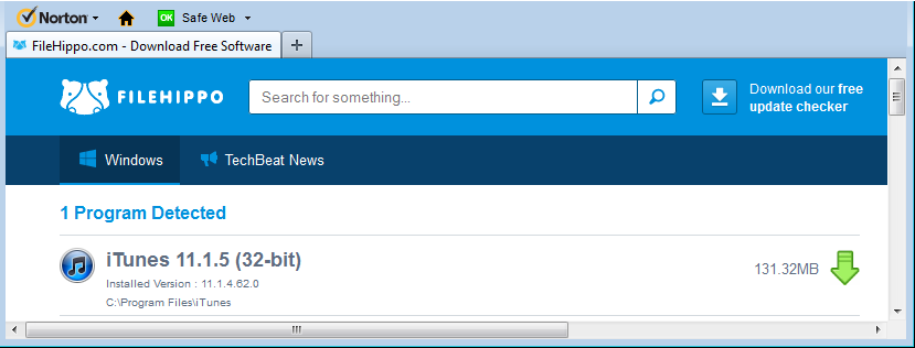 Download safari 4. 0. 5 filehippo. Com.
