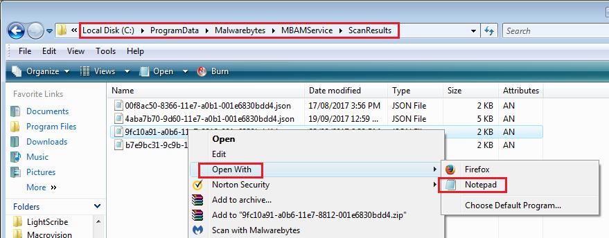 malwarebytes stops scanning after 3 seconds