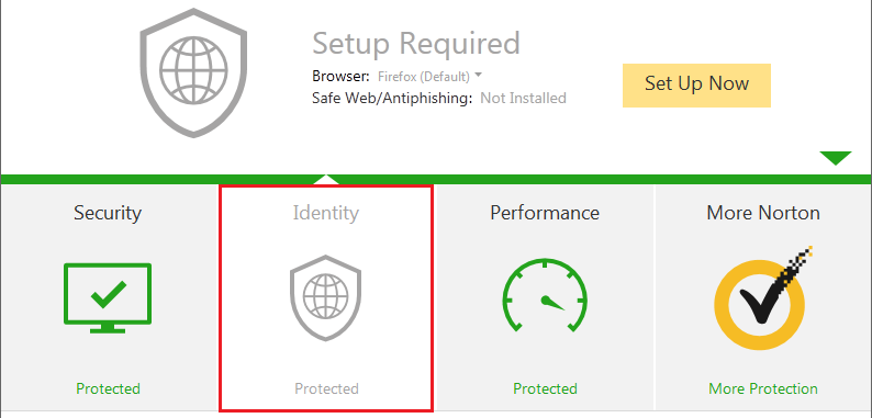Norton Internet Security hangs and scan does not complete