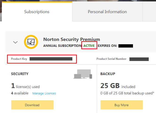 norton 360 product key free 2018