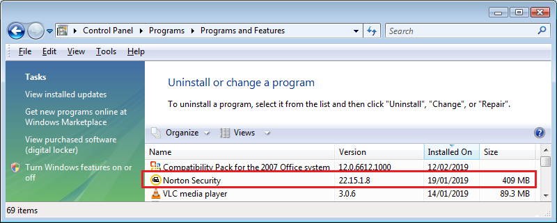 Norton 360 on Windows XP not working | Norton Community