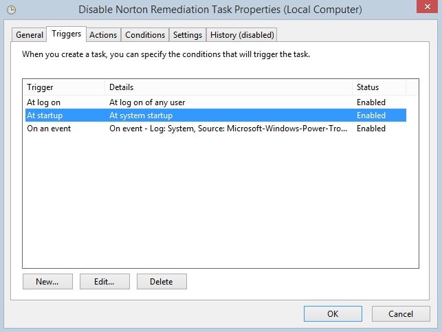 Norton remediation task issues | Norton Community