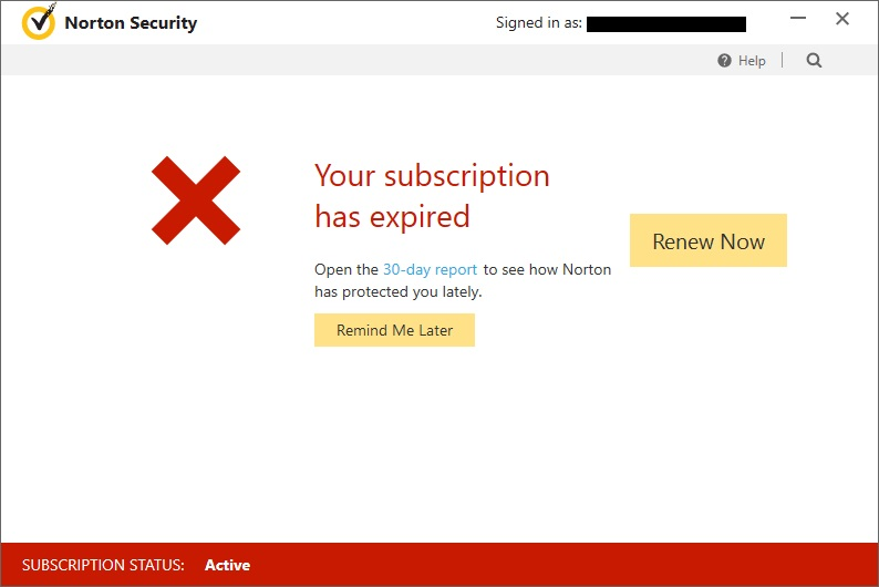 norton subscription renewal code free 2017