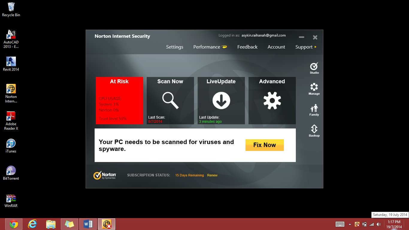 how to turn on norton safe web icons