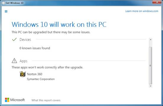 application compatibility issues windows 10