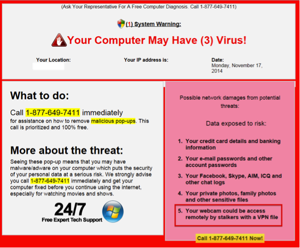 How To Recognize and Avoid Tech Support Scams