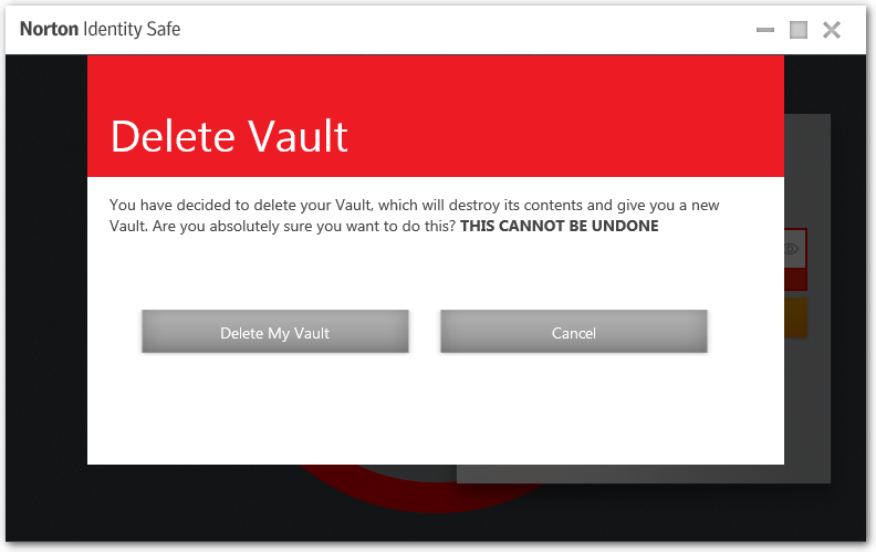 how to delete your player vaults