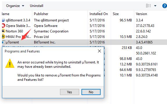 Norton 360 deleted my uTorrent | Norton Community