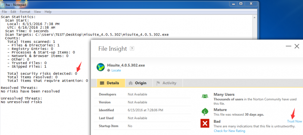 Huwai HiSuite File Hisuite_4 0 5 302 exe   Norton Community