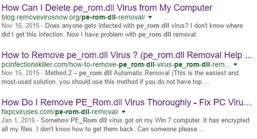 pe_rom dll in windows is detected as Trojan | Norton Community