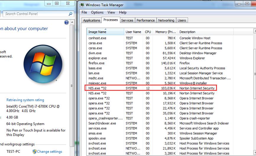 svchost.exe high memory usage windows 7 sp1
