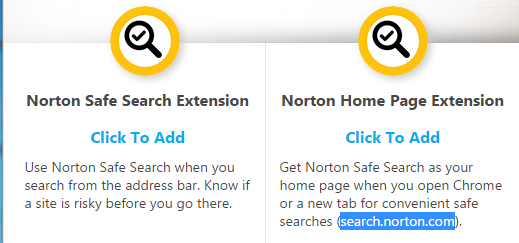 Chrome new tab with non-empty URL | Norton Community