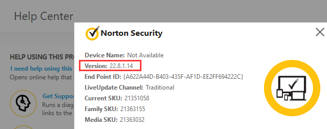norton security at 100% disk usage for extended amounts of