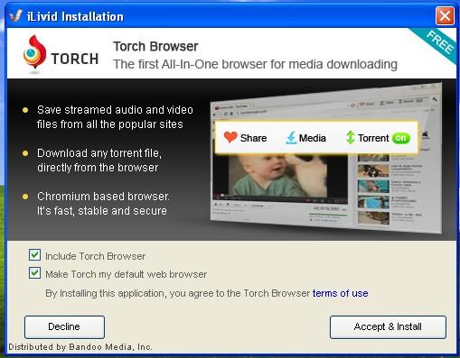 torch web browser | Norton Community