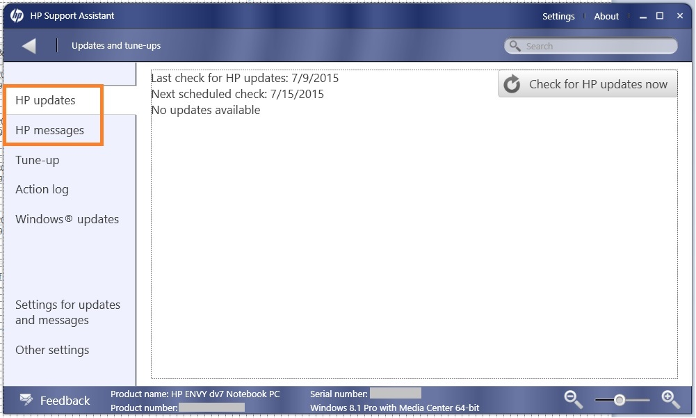 HP Support Assistant Blocked n360 Vers 22.5.0.124 update ...