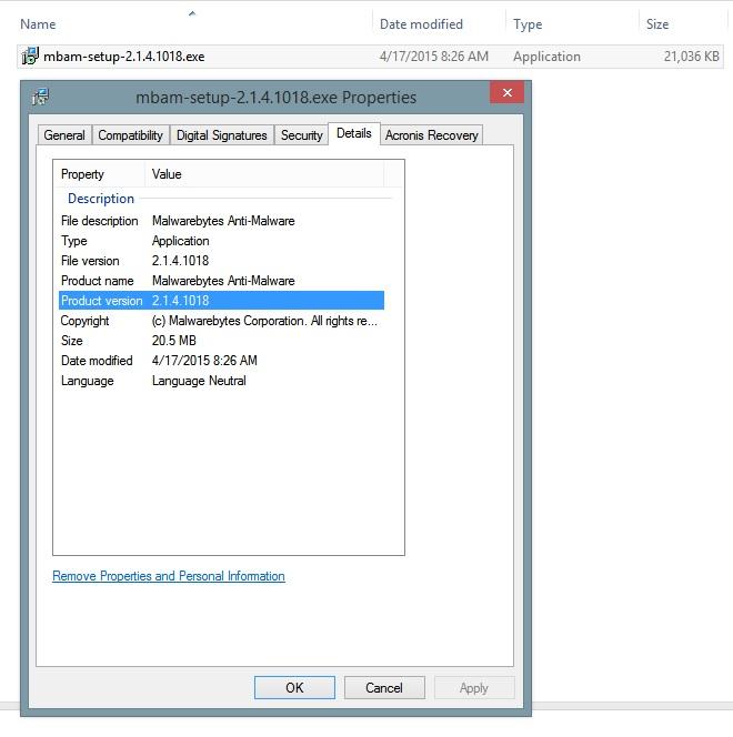 New Malwarebytes Anti-Malware 2 1 6 1022 | Norton Community