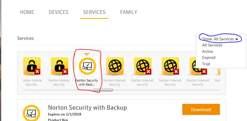 how to delete my norton internet security account