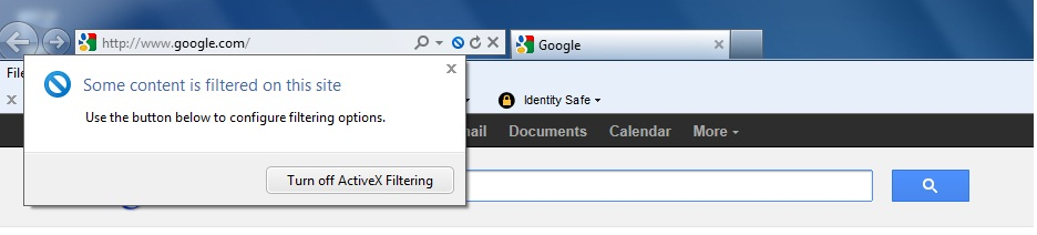 Safe Search and IE9 - Problem | Norton Community