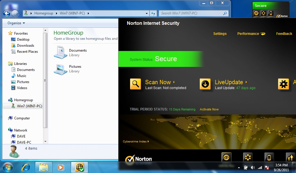 win7 homegroup