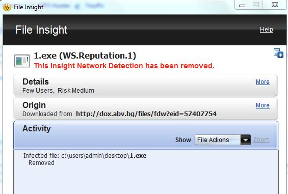 Norton Internet Security WS.Reputation.1