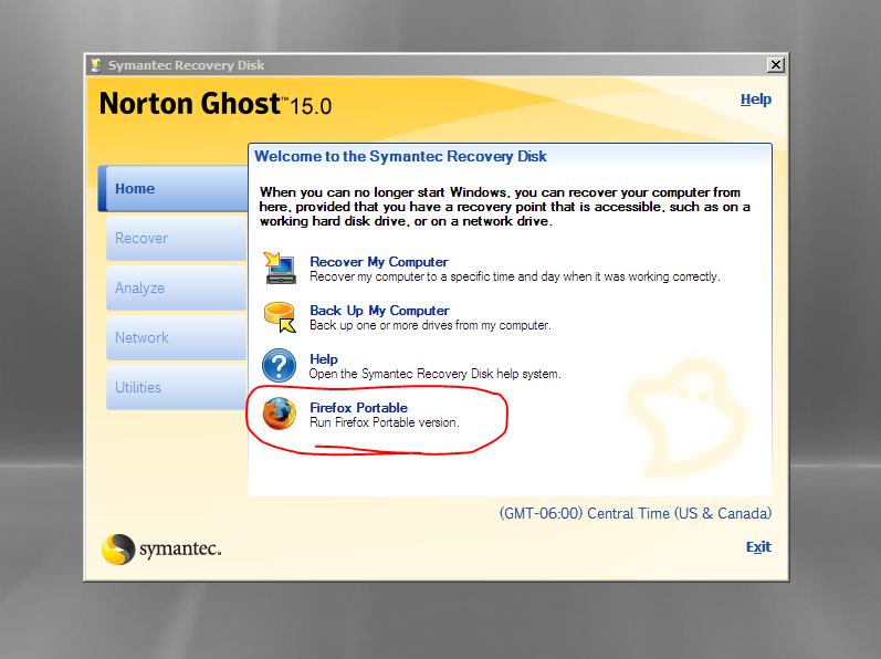 symantec norton ghost 12 boot cd iso