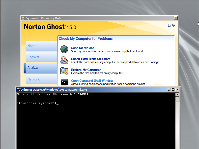 How to build the Ghost15 SRD on WinPE 3 0   | Norton Community