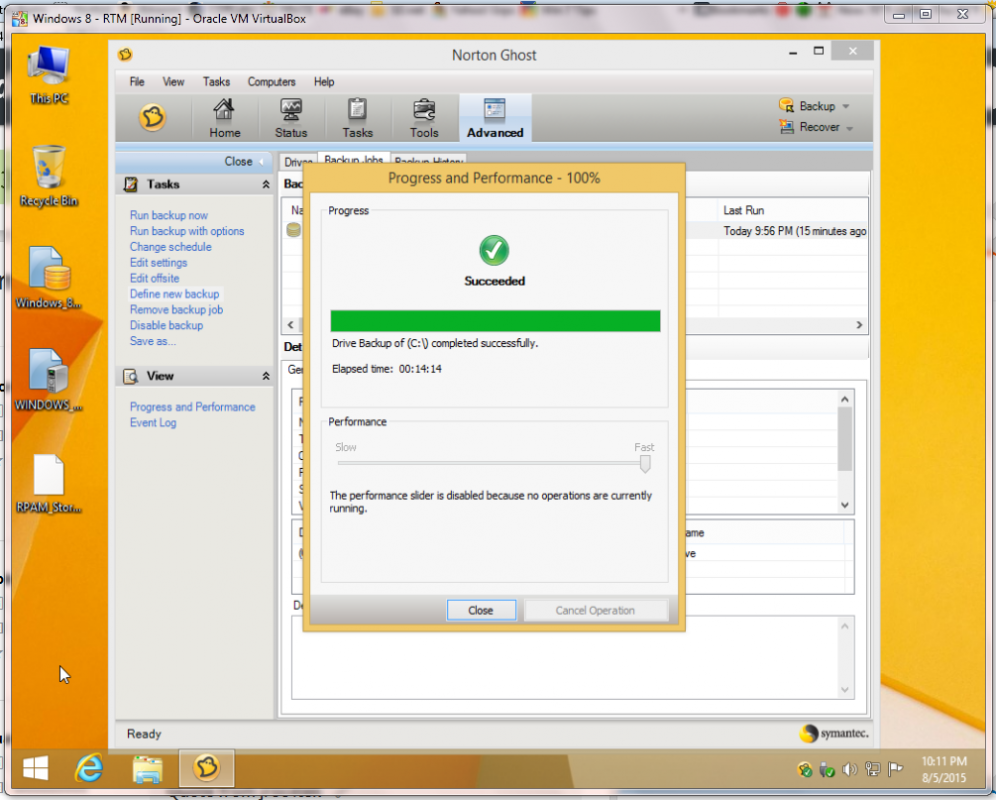 How to activate Ghost 15 in Windows 8.1 and probably Windows 10  Norton Community