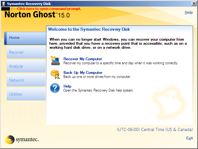 Ghost 15 on Windows 7 to clone and replace Boot Drive | Norton Community