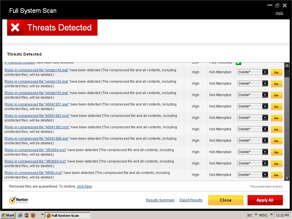 safe mode delete virus