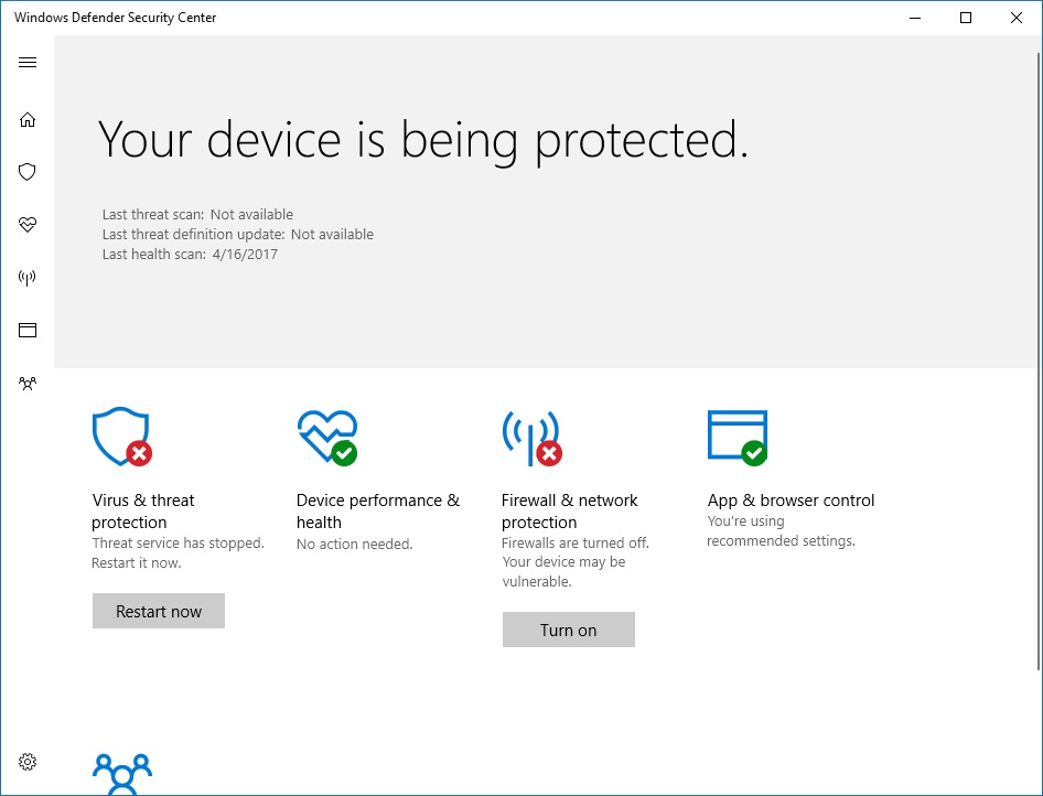how to turn on firewall on dell laptop