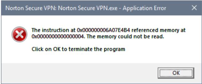 VPN not starting after reboot | Norton Community