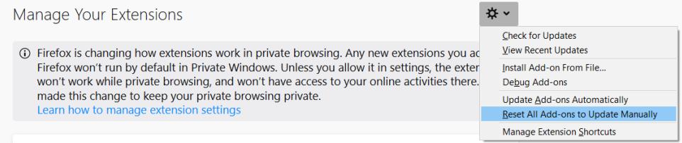 Glitch with new FF Safe Web 3 8 0 6 on FF 52 9 0 | Norton Community