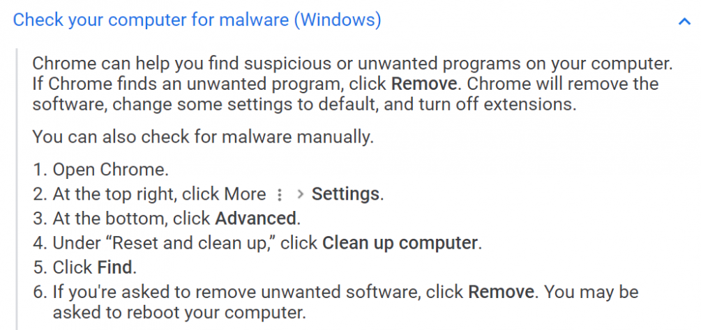 fake(?) virus notification in Windows 10 from Chrome(?) and