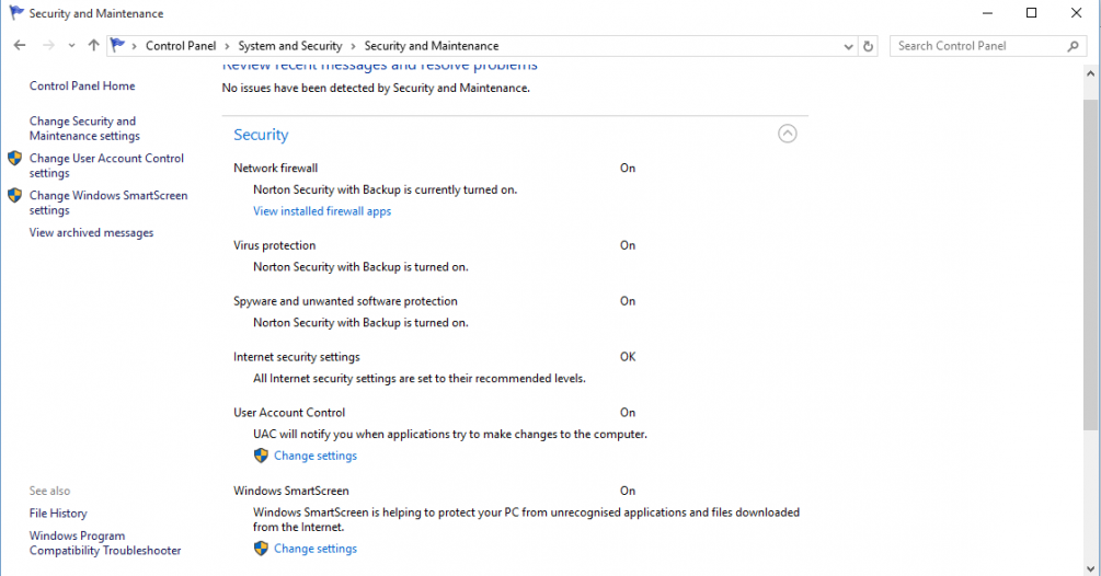 After upgrade to windows 10 both ns and windows defender appear to re after upgrade to windows 10 both ns and windows defender appear to be active ccuart Images