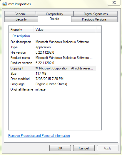 what is mrt.exe windows 7
