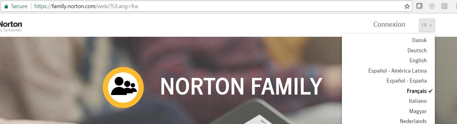 norton family s 39 installe en anglais communaut norton. Black Bedroom Furniture Sets. Home Design Ideas